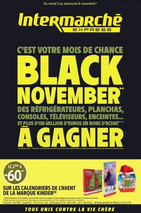 BLACK NOVEMBER . Intermarché Express (2020-11-08-2020-11-08)