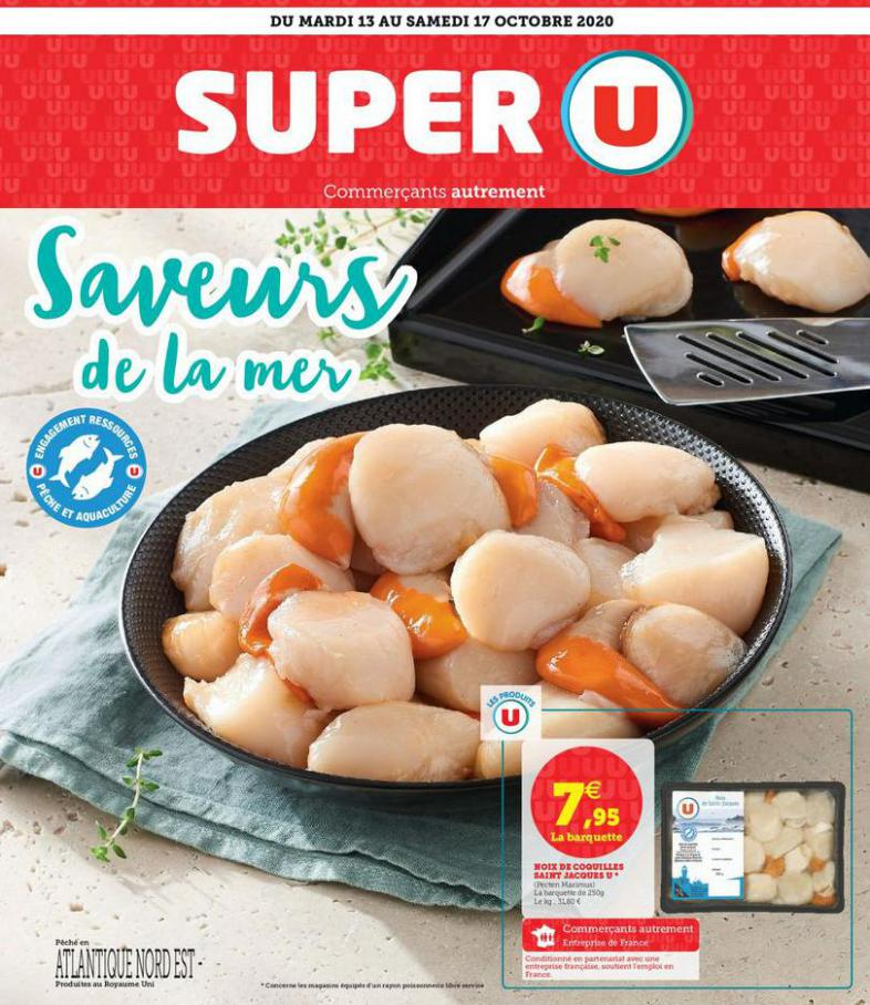 SAVEURS DE LA MER . Super U (2020-10-17-2020-10-17)
