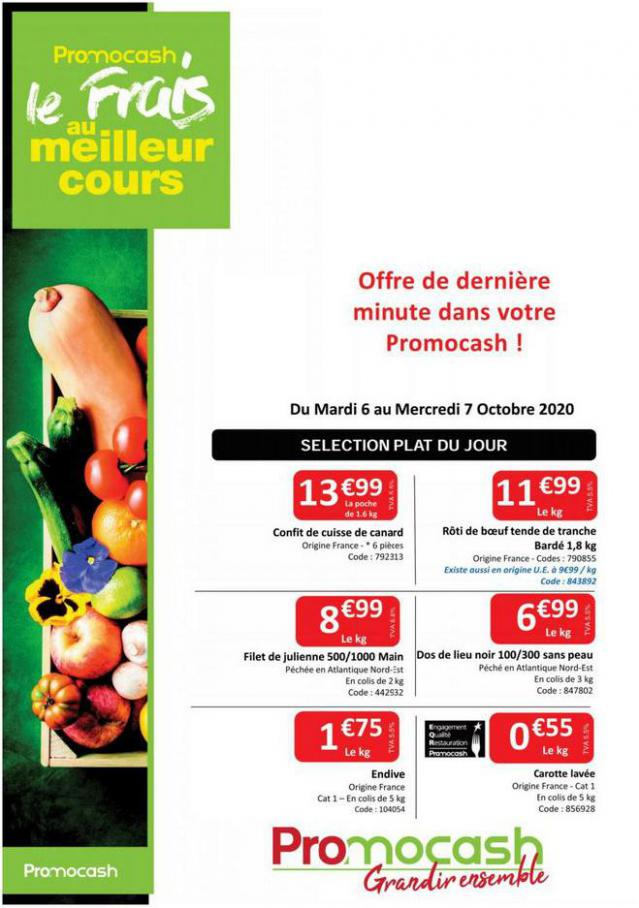 Catalogue Promocash . Promocash (2020-10-07-2020-10-07)