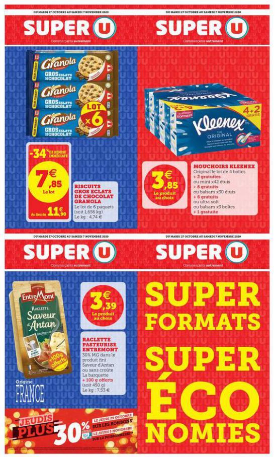 SUPER FORMATS SUPER ÉCONOMIES . Super U (2020-11-07-2020-11-07)
