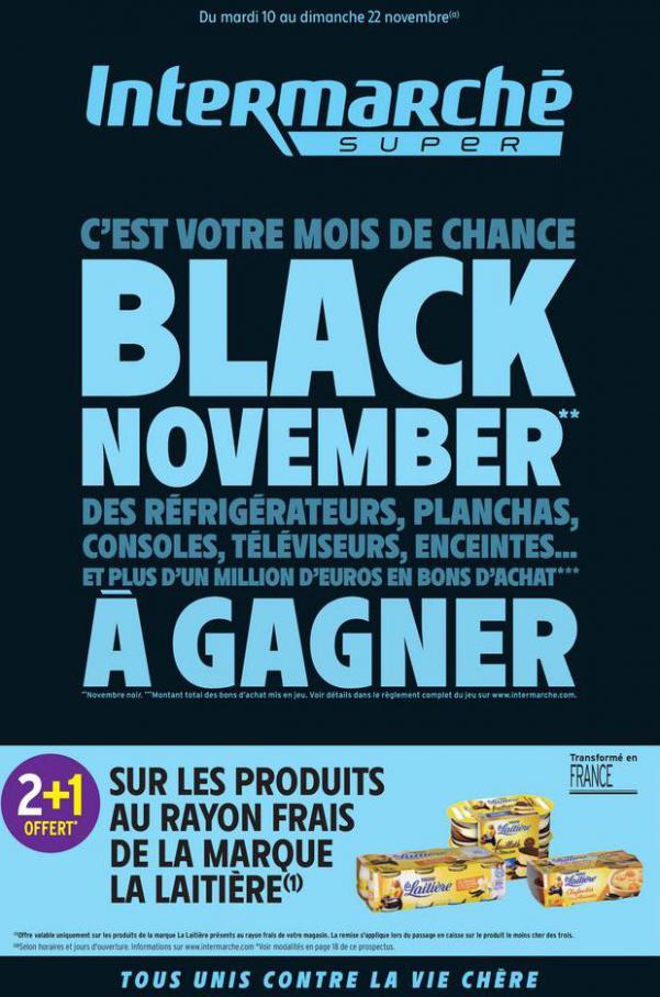 Offre Intermarché Black Friday . Intermarché (2020-11-22-2020-11-22)