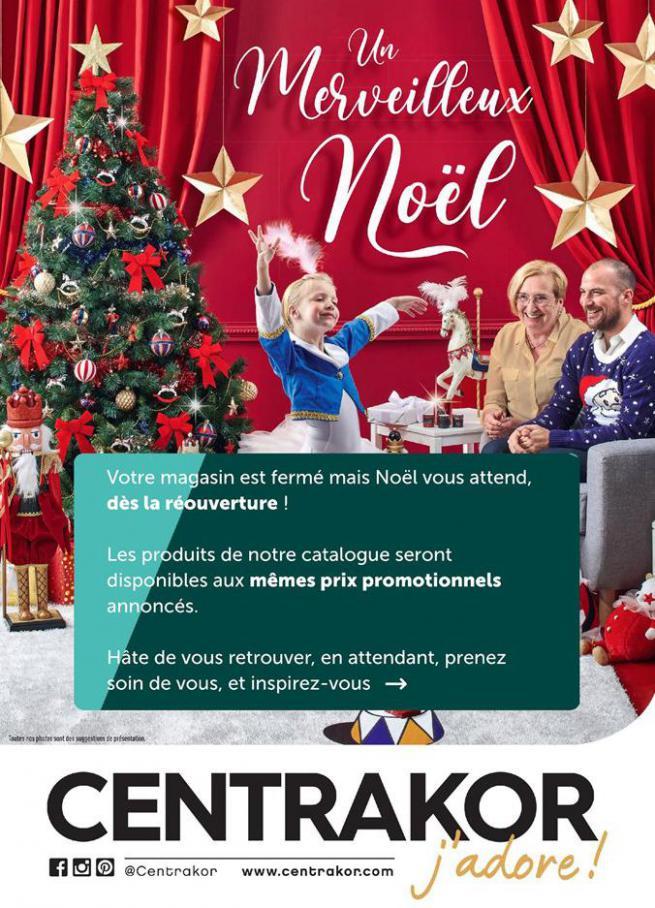 Un merveilleux Noël . Centrakor (2020-11-15-2020-11-15)