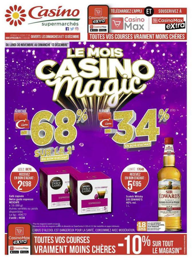 Le mois Casino magic . Casino Supermarchés (2020-12-13-2020-12-13)