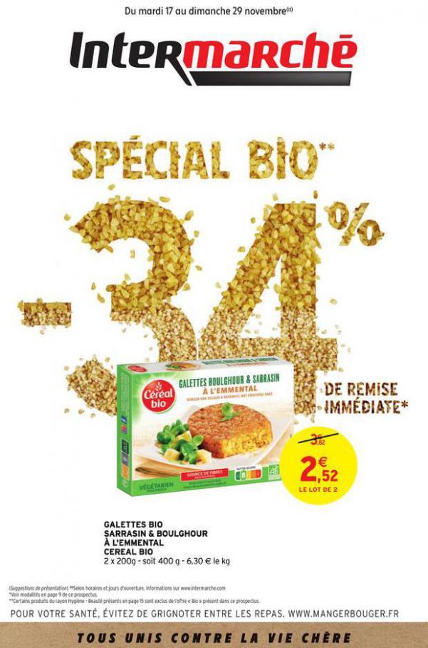 Spécial Bio . Intermarché Express (2020-11-29-2020-11-29)