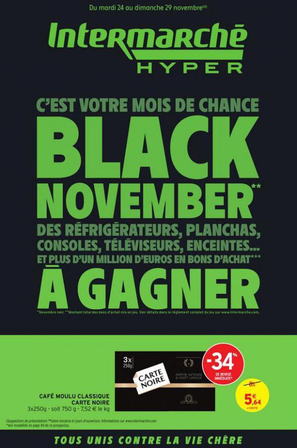 BLACK NOVEMBER . Intermarché Hyper (2020-11-29-2020-11-29)