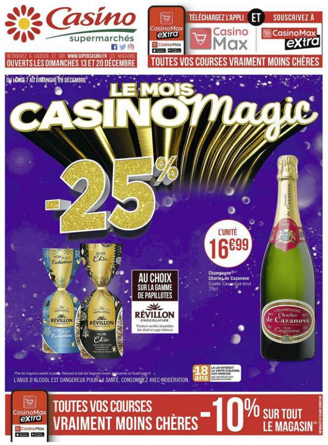Le mois Casino magic . Casino Supermarchés (2020-12-20-2020-12-20)