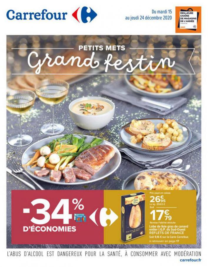 Petits mets - Grand festin . Carrefour (2020-12-24-2020-12-24)