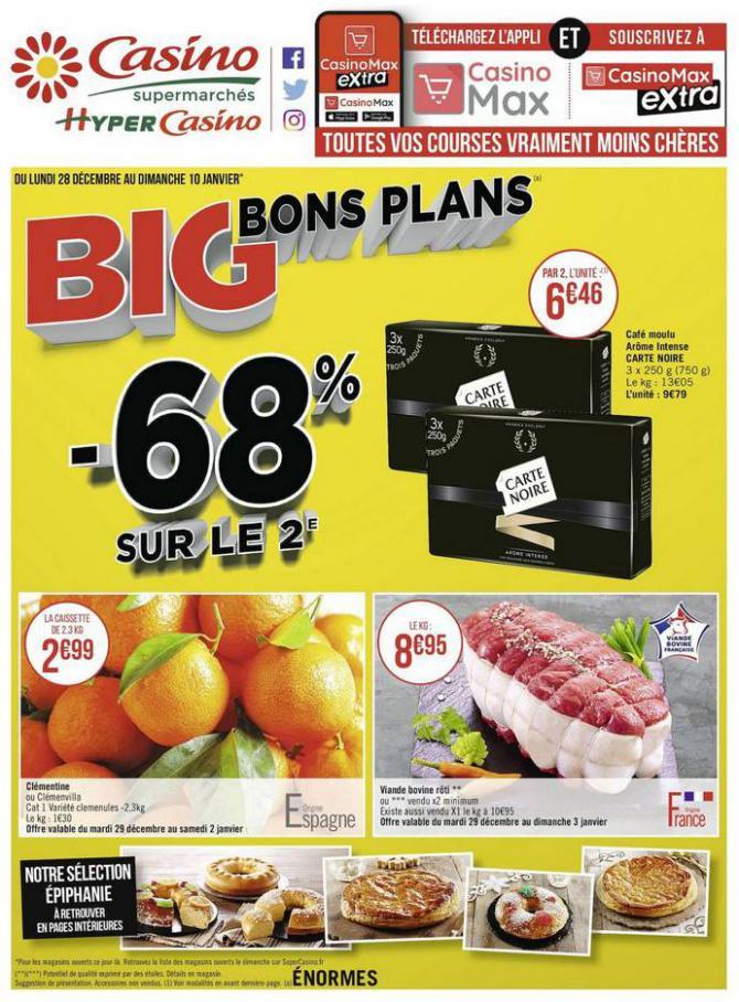 Big bons plans . Casino Supermarchés (2021-01-10-2021-01-10)