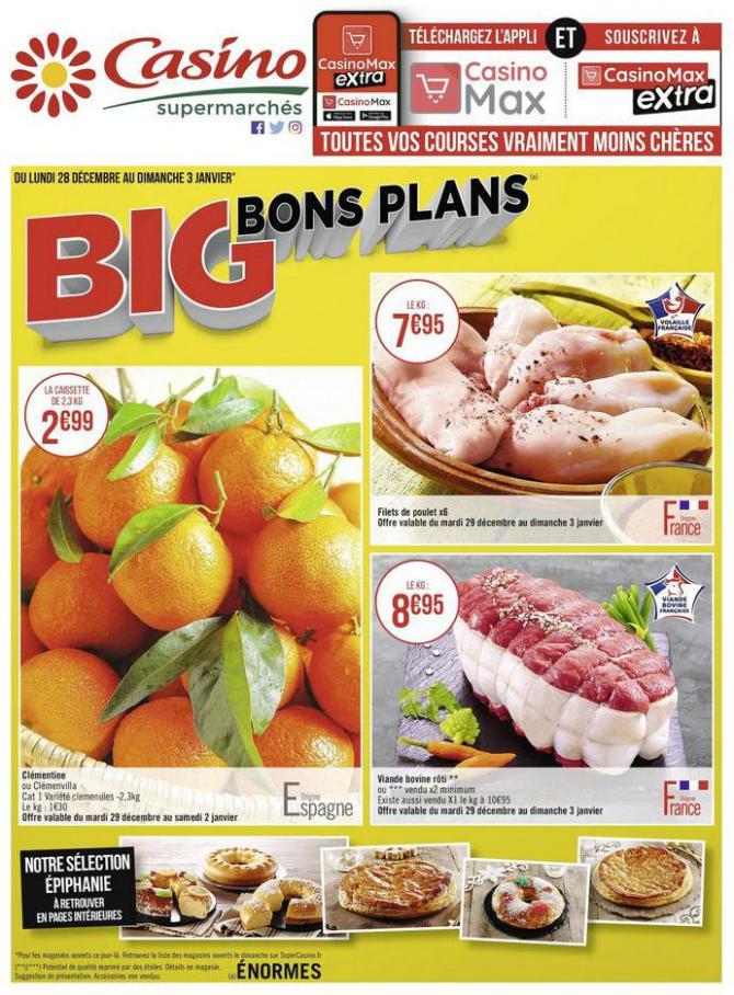 Big bons plans . Casino Supermarchés (2021-01-03-2021-01-03)