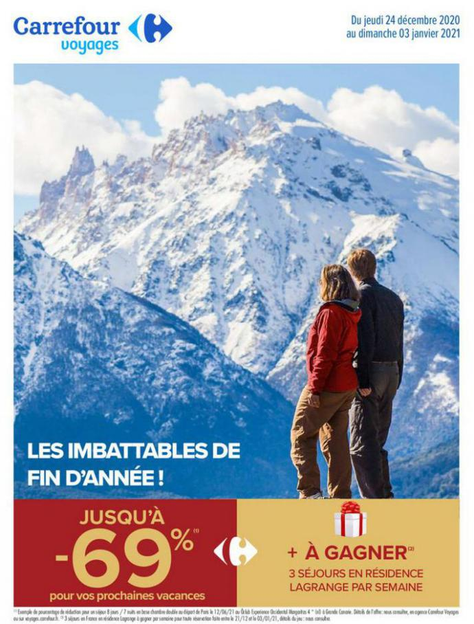 Catalogue Carrefour . Carrefour (2021-01-03-2021-01-03)