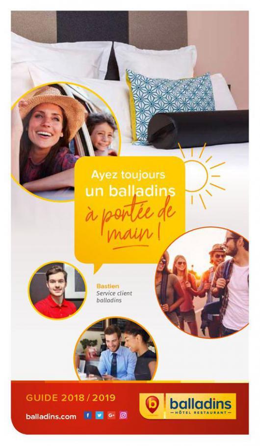 Guide balladins . Hôtels Balladins (2019-08-31-2019-08-31)