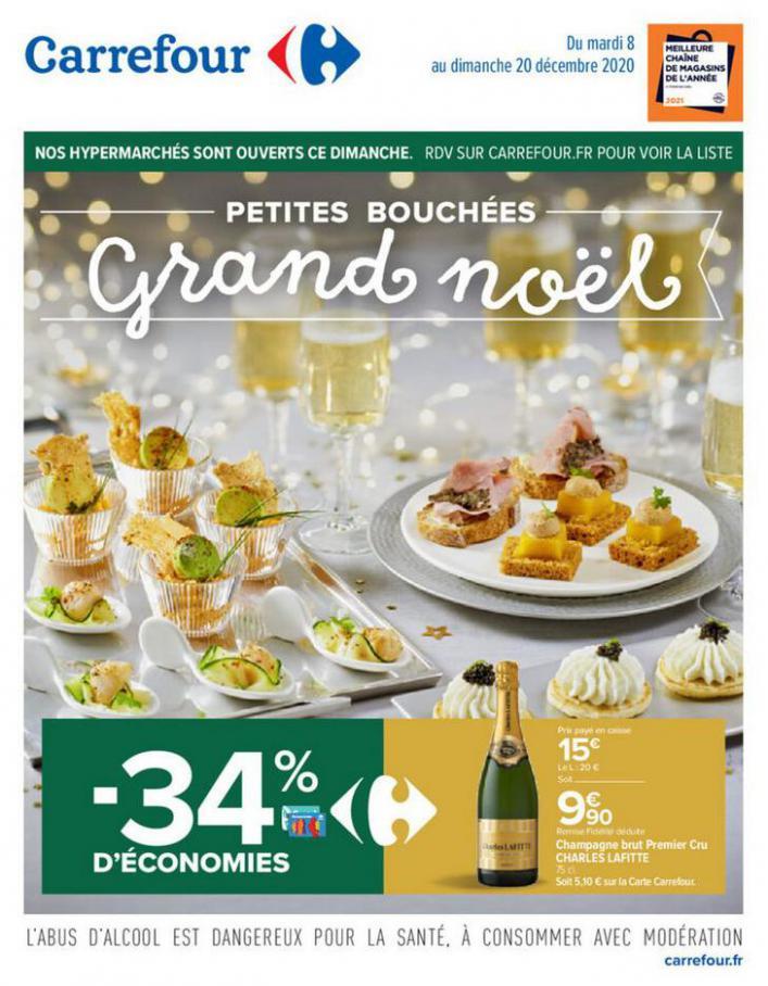 Petites bouchées Grand Noël . Carrefour (2020-12-20-2020-12-20)