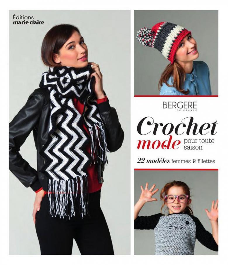 Crochet Mode  . Bergère de France (2019-08-31-2019-08-31)