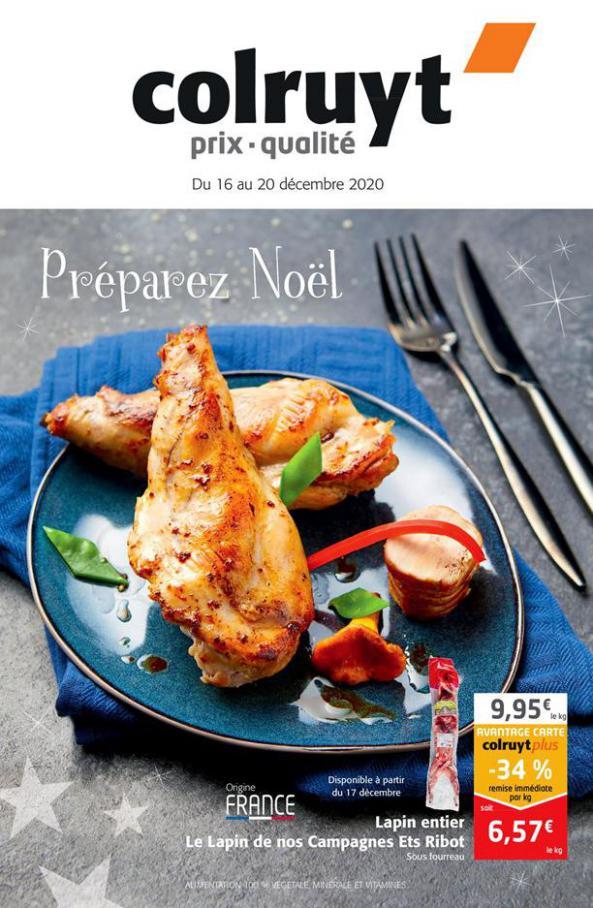 Préparez Noël . Colruyt (2020-12-20-2020-12-20)