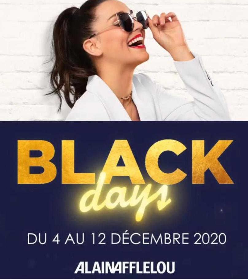 Offre Alain Afflelou Black Friday . Alain Afflelou (2020-12-12-2020-12-12)