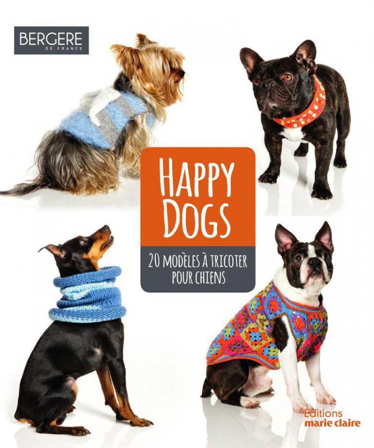Happy Dogs  . Bergère de France (2019-08-31-2019-08-31)