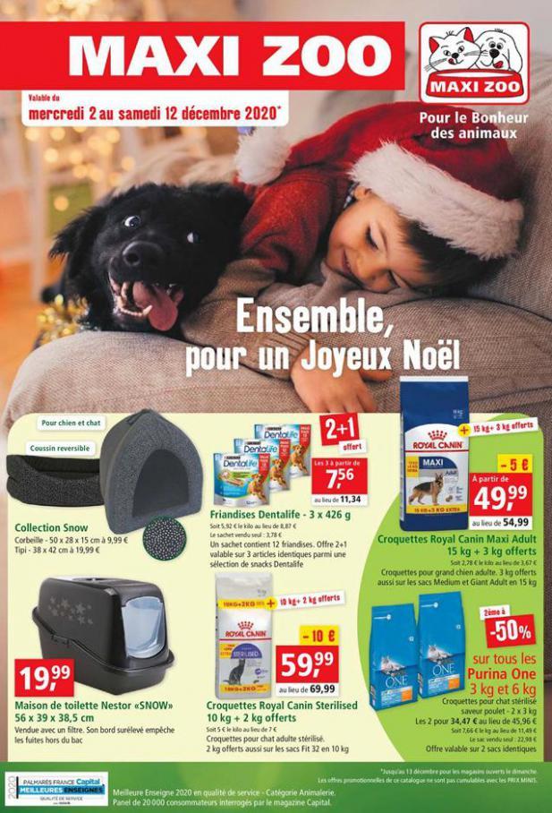 Ensemble, pour un Joyeux Noël . Maxi Zoo (2020-12-12-2020-12-12)