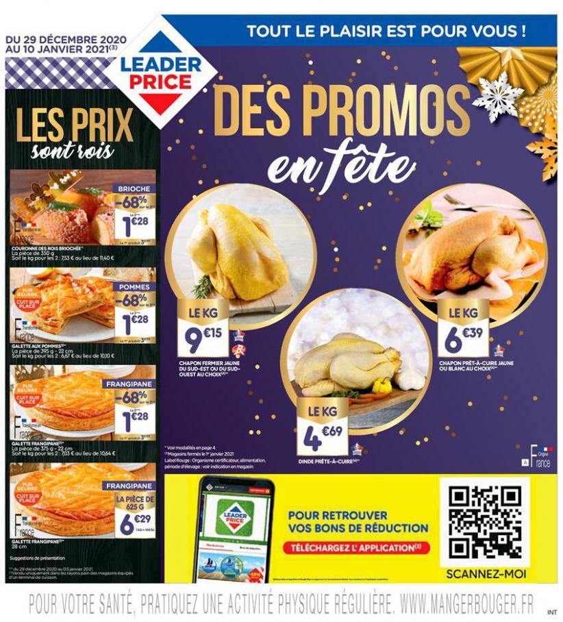 Des Promos en fête . Leader Price (2021-01-10-2021-01-10)