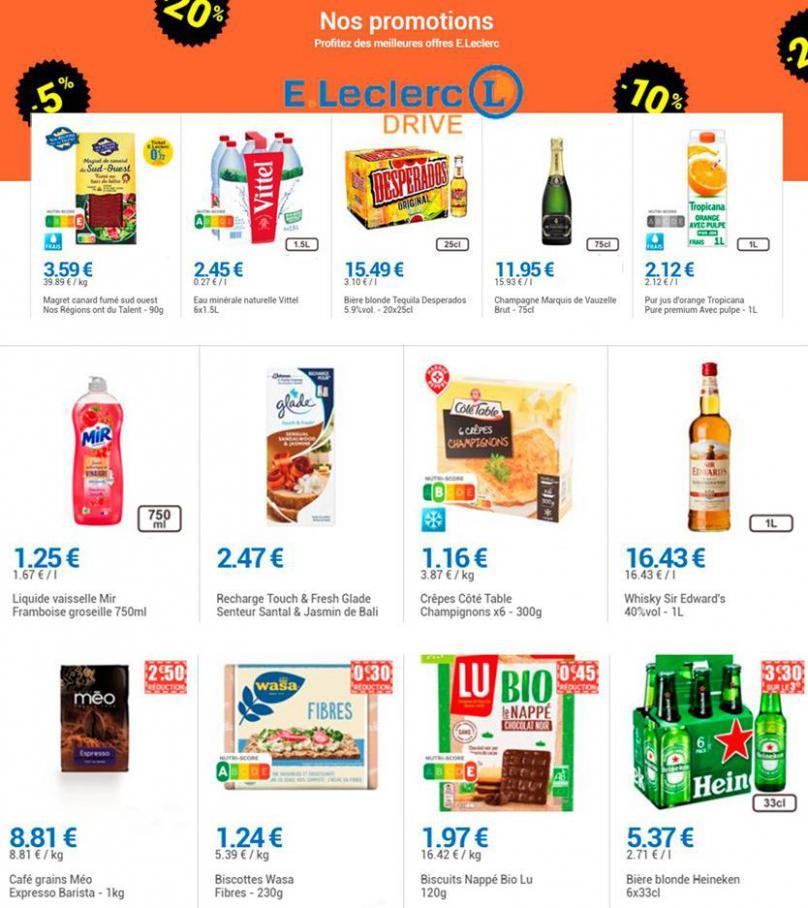 Nos promotions . E.Leclerc Drive (2021-01-13-2021-01-13)