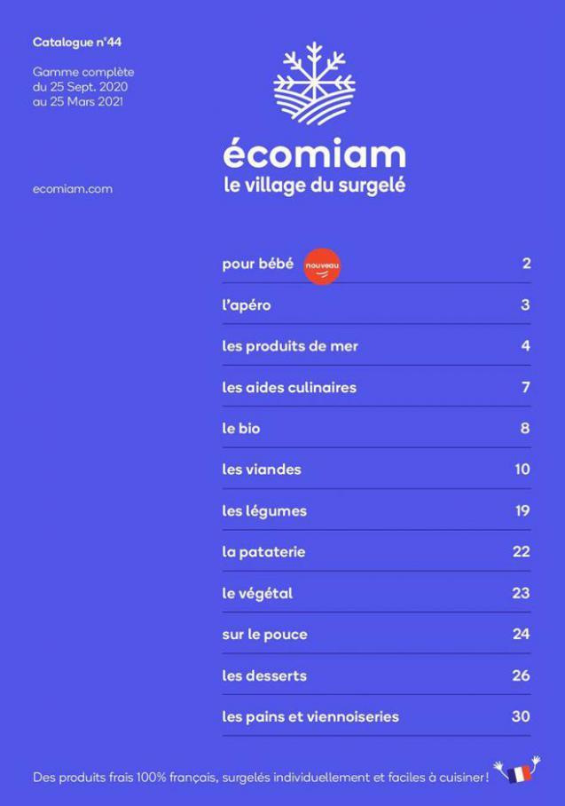 Catalogue Écomian . Ecomiam (2021-03-25-2021-03-25)