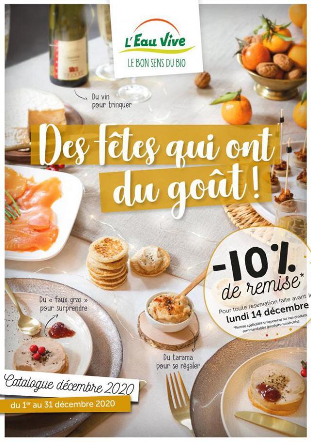 Catalogue Noël 2020 . L'Eau Vive (2020-12-31-2020-12-31)