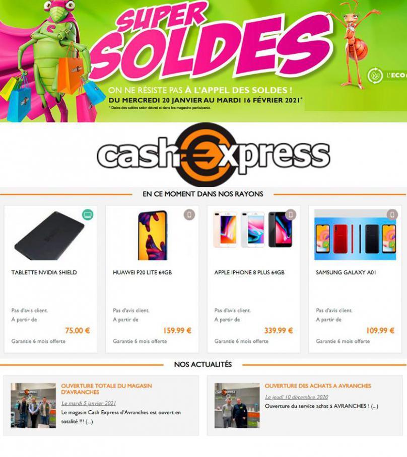 Super Soldes . Cash Express (2021-02-16-2021-02-16)