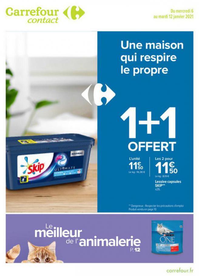 BLANC . Carrefour Contact (2021-01-12-2021-01-12)