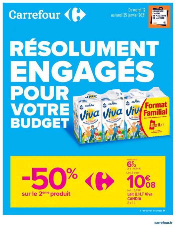Catalogue Carrefour . Carrefour (2021-01-25-2021-01-25)