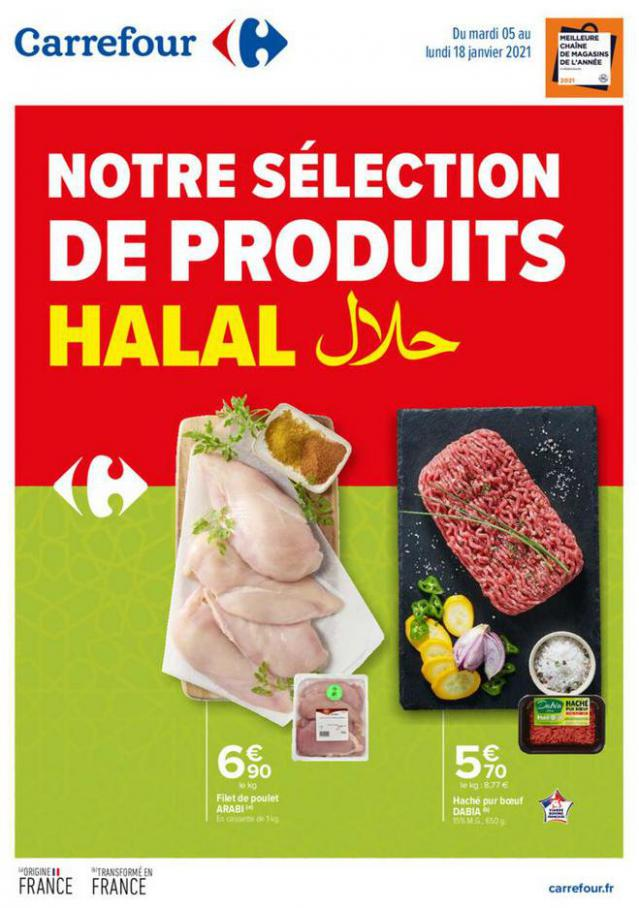 Terroir Halal Bassin GN . Carrefour (2021-01-18-2021-01-18)