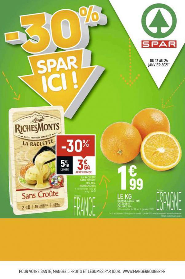 -30% SPAR ICI . Spar (2021-01-24-2021-01-24)