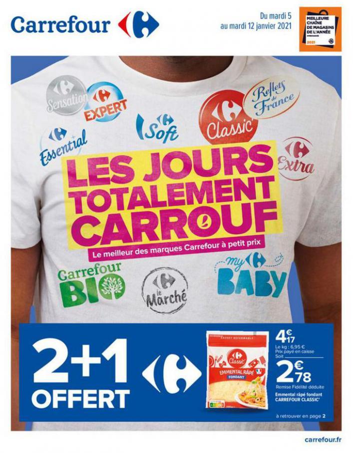 Catalogue Carrefour . Carrefour (2021-01-12-2021-01-12)