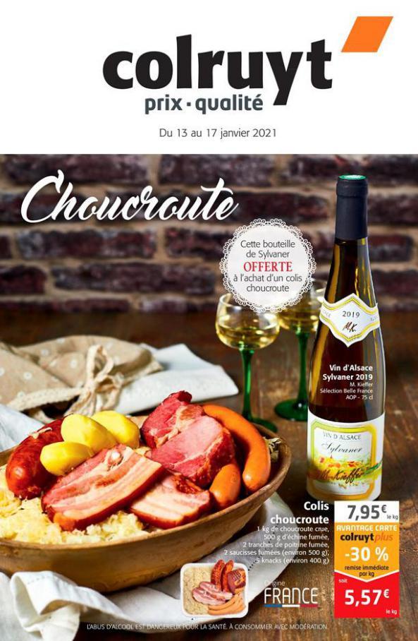 Choucroute . Colruyt (2021-01-17-2021-01-17)