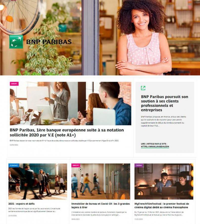 Catalogue BNP Paribas . BNP Paribas (2021-03-23-2021-03-23)
