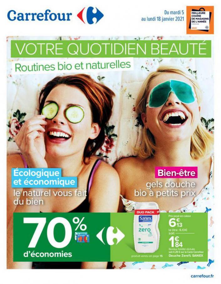 Catalogue Carrefour . Carrefour (2021-01-18-2021-01-18)