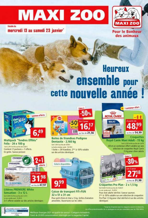 Pour le bonheur des animaux  . Maxi Zoo (2021-01-23-2021-01-23)