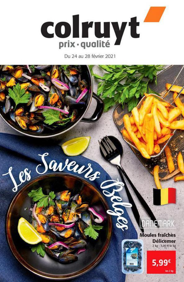 Les saveurs Belges . Colruyt (2021-02-28-2021-02-28)