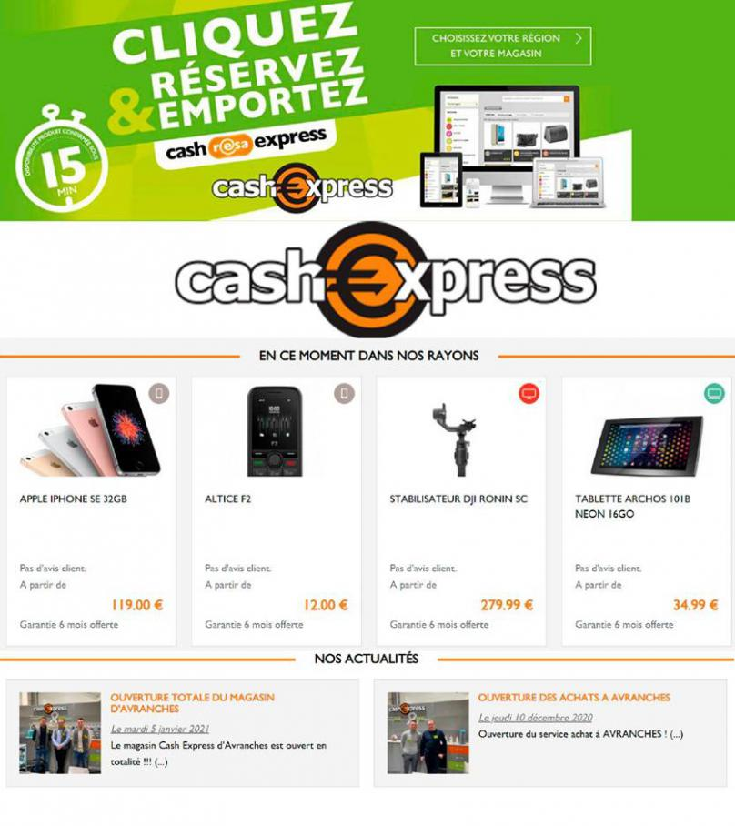 Offres Cash Express . Cash Express (2021-03-18-2021-03-18)