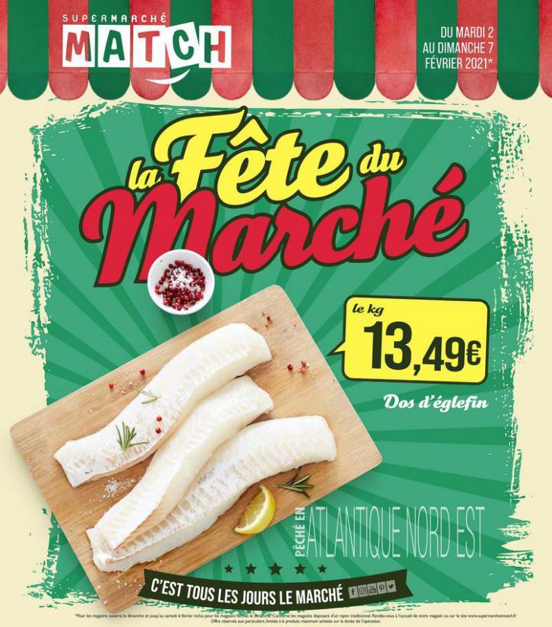 La fête du marché . Match (2021-02-07-2021-02-07)