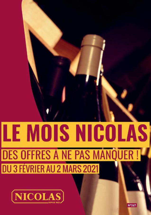 Le mois Nicolas . Nicolas (2021-03-02-2021-03-02)