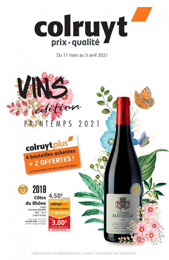 Foire aux vins de Printemps . Colruyt (2021-04-05-2021-04-05)