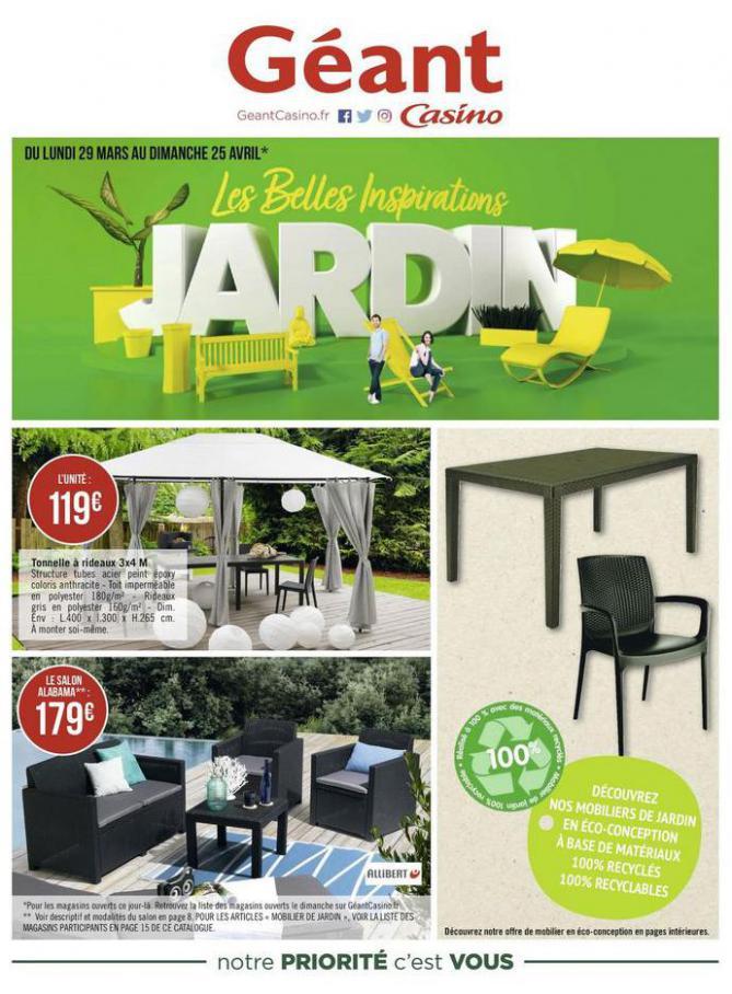 Les belles inspirations jardin . Géant Casino (2021-04-25-2021-04-25)