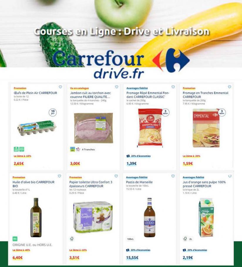 Offres Carrefour Drive . Carrefour Drive (2021-04-02-2021-04-02)