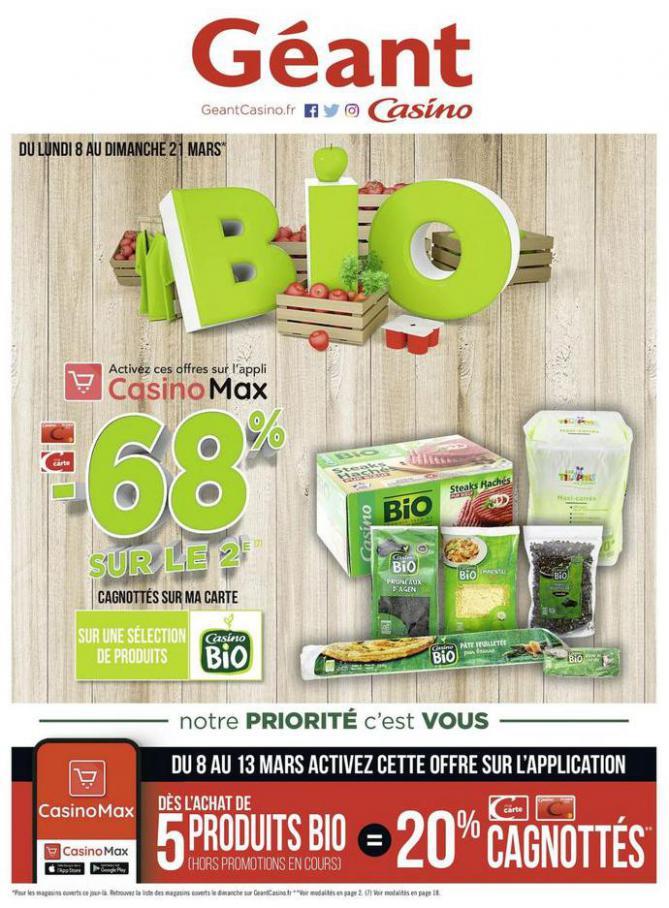 BIO . Géant Casino (2021-03-21-2021-03-21)