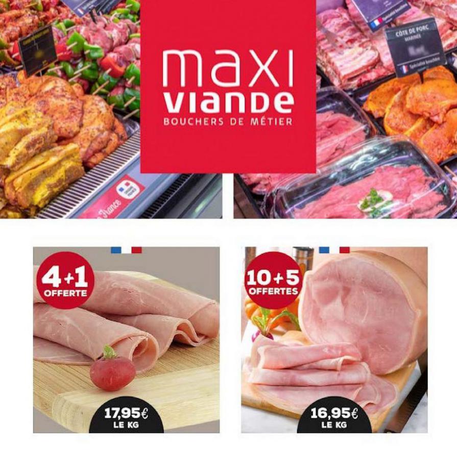 Votre commande chez Maxiviande . Maxi Viande (2021-03-31-2021-03-31)