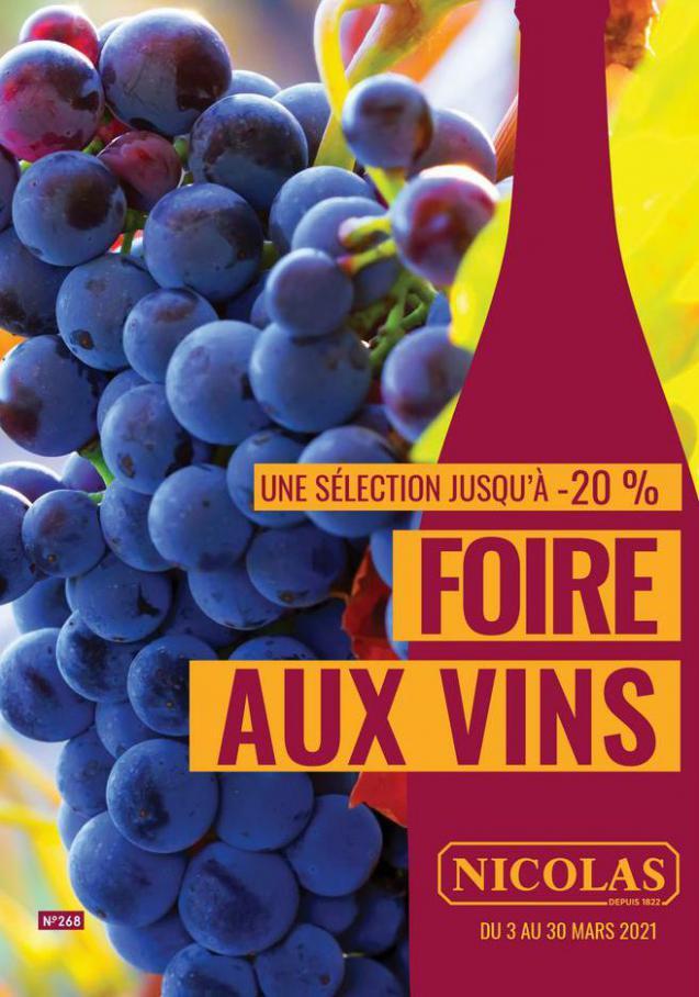 Foire aux Vins . Nicolas (2021-03-30-2021-03-30)
