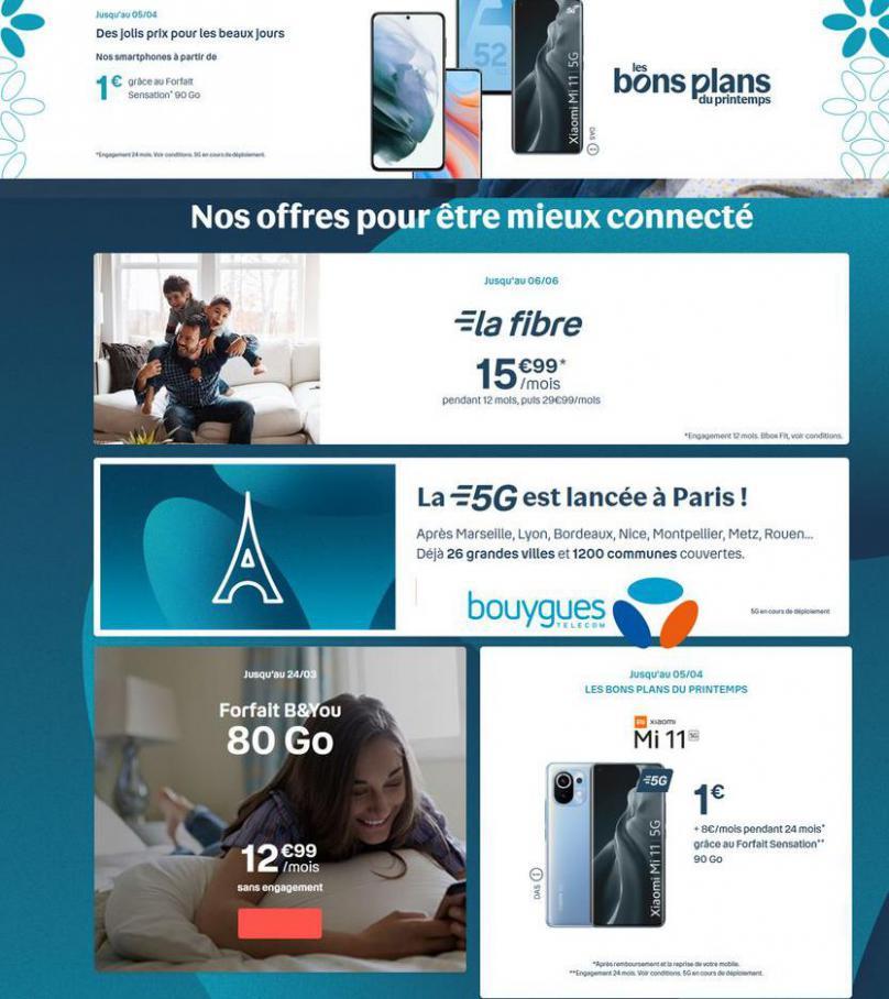 Offres Bouygues Telecom . Bouygues Telecom (2021-04-29-2021-04-29)