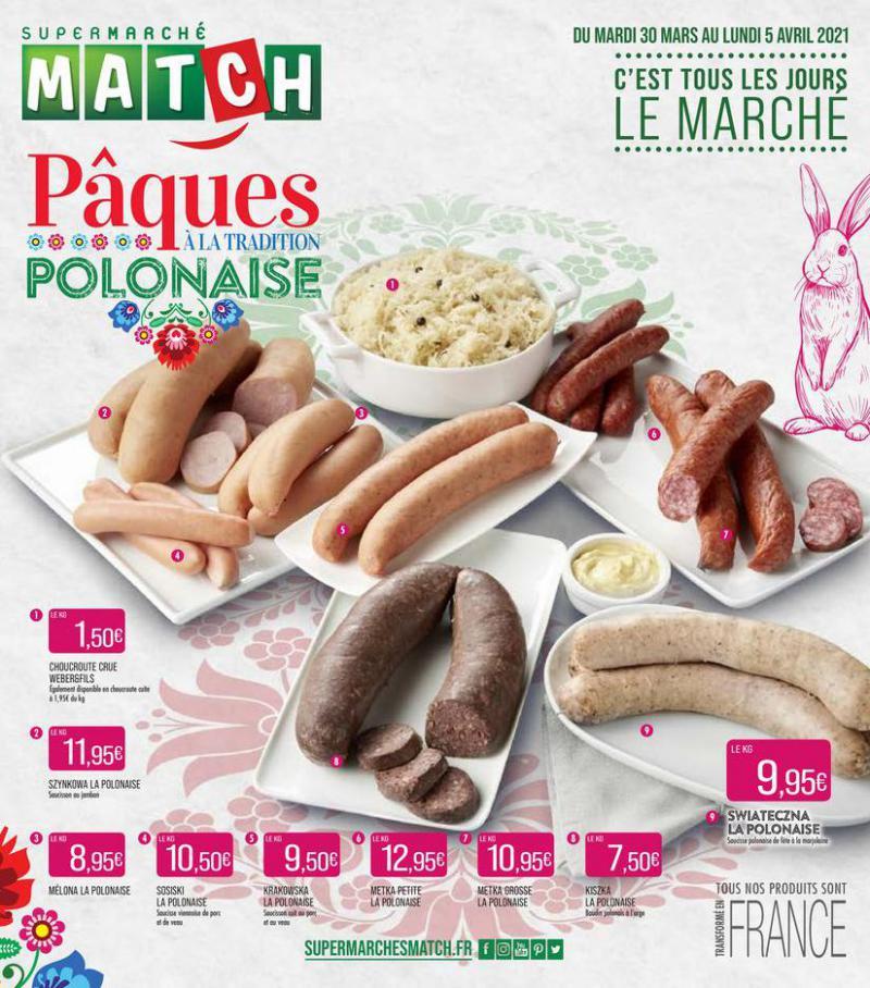 Pâques à la tradition Polonaise . Match (2021-04-05-2021-04-05)