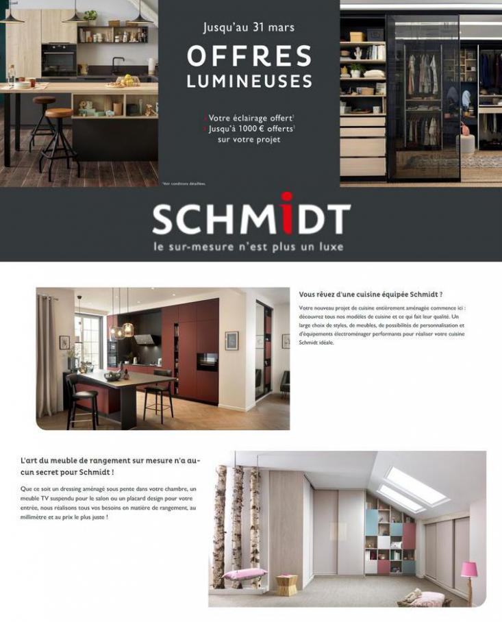 Offres Lumineuses . Cuisines Schmidt (2021-03-31-2021-03-31)
