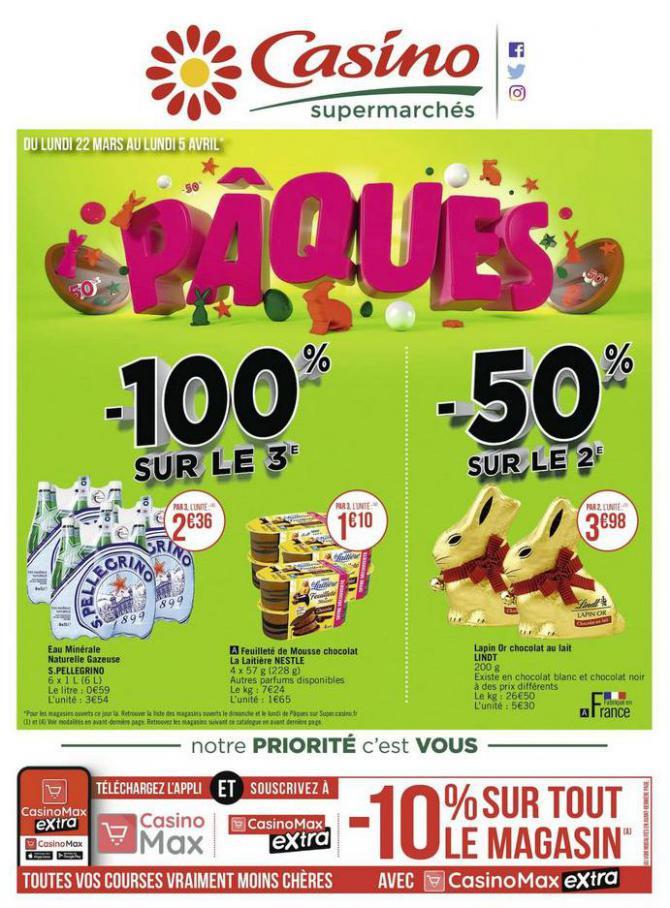 Pâques . Casino Supermarchés (2021-04-05-2021-04-05)