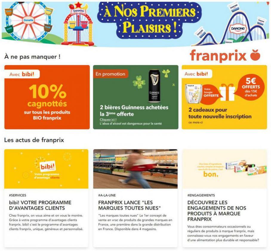 A nos premiers plaisirs! . franprix (2021-03-21-2021-03-21)